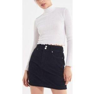 Urban Outfitters BDG Black corduroy skirt